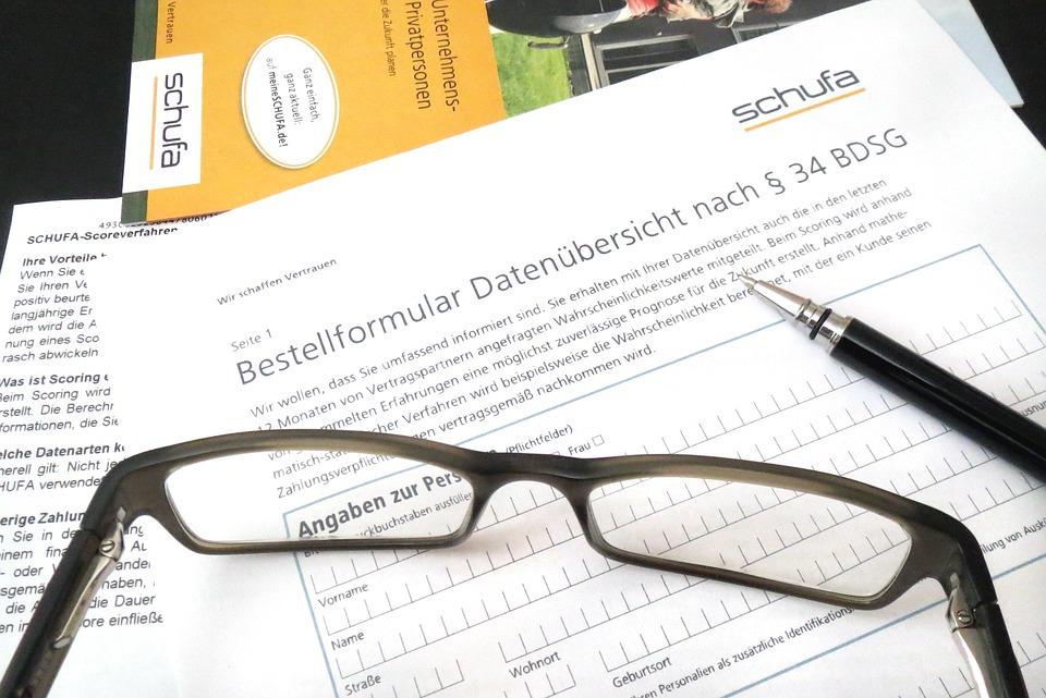 احد اسباب رفض اجراء اي عقد معك في ألمانيا: الشوفا SCHUFA